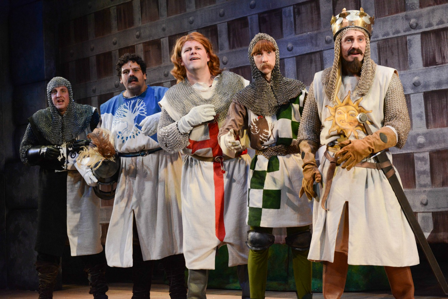 Knights of the round table monty python - The New Tour Is Produced By The Award Winning Selladoor Productions And Mercury Theatre Colchester Selladoor S Recent Tours Include Footloose